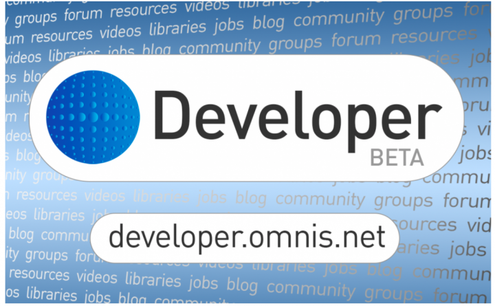 OMNIS Developer portal online ! 5