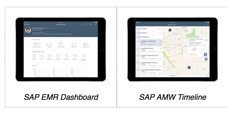 SAP / Apple partnership --> SDK for iOS , SWIFT based 3